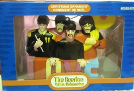 Kurt Adler Beatles Yellow Submarine Love Christmas Ornament - $31.68
