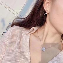 AUTH Christian Dior 2020 GOLD CD LOGO HOOP PEARL EARRINGS  image 4