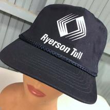 VTG Ryerson Tull Metals Chicago Snapback Baseball Hat Cap  - $21.67