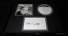 Tom T Hall Signed Framed 11x14 Best Of CD & Photo Display - $58.54