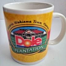 DOLE Plantation Pineapple Historic Wahiawa Hawaii Coffee Porcelain Cup M... - $14.95