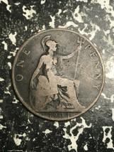 1903 Great Britain 1 Penny Lot#L5162 - $4.00