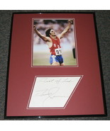 Bruce Jenner Signed Framed 16x20 Photo Display JSA 1976 Olympics - $93.14
