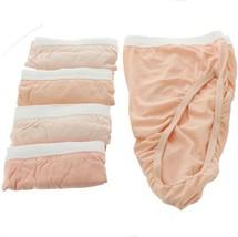 Breezies S 6 Cotton High-Cut Brief PantiesUltimAir Neutrals 9 NEW A22765 - $29.68