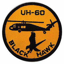 UH-60 BLACK HAWK US ARMY AVIATION EMBROIDERED  PATCH - $15.33