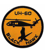 UH-60 BLACK HAWK US ARMY AVIATION EMBROIDERED  PATCH - $23.74