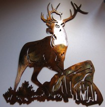 Elk Metal Wall Art  by HGMW - $34.64