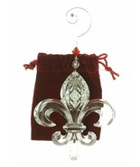 Waterford Crystal Fleur de Lis ORNAMENT 2014 NEW IN THE BOX  - $79.19