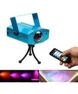 Psychedelic Lamp Light Projector Sound Activated Trippy Relaxing Party R... - $32.49