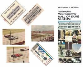 Indianapolis 500 1983 Ticket Stub Photos Brochures 7 Piece Lot - $18.99