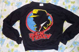 VTG 1990's Dick Tracy the Movie Promo Boy's L/S Pajama Top Shirt Youth M... - $14.80