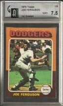 1975 Topps #115 Joe Ferguson GAI 7.5 NEAR MINT+  - $11.53