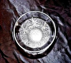 Cut Glass Vase with Detailed Design AA18-11801 Vintage Heavy image 5