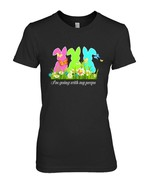 Im Going With My Peeps T shirt Easter For Boys Girls Kids - $19.99