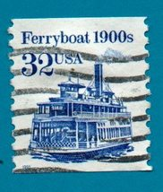 Scott  #2466 - United States Collectible Postage Stamp - Ferryboat - $1.99