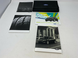 2018 Ford Focus Owners Manual Handbook Set with Case OEM Z0A1527 - $29.69