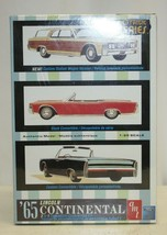 1965 Lincoln Continental AMT Car Model Kit 3 in 1 customizing, New Sealed 8122 - $29.69