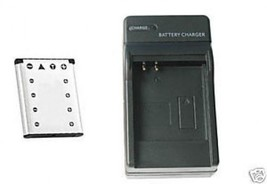 Battery + Charger for Olympus FE-320 FE320 FE-340 FE340 - $26.86