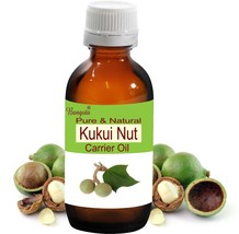 Kukui Nut Oil- Pure & Natural Carrier Oil- 30ml Aleurites moluccana by B... - $10.81