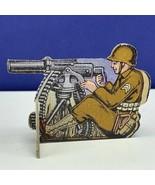 Bomber Raid vtg board game piece 1943 Fairchild toy soldier military gat... - $19.69