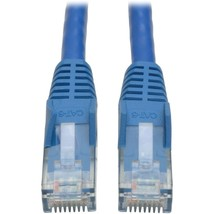 Tripp Lite 10ft Cat6 Gigabit Snagless Molded Patch Cable RJ45 M/M Blue 10 - 10ft - $18.24