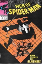 Web of Spider-Man Comic Book #37 Marvel Comics 1988 NEAR MINT NEW UNREAD - $2.99
