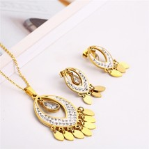 OUFEI Stainless Steel Fashion Jewelry Woman Vogue 2019 Set Accessories Gifts For - $16.84