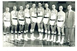 1953-54 MINNEAPOLIS LAKERS 8X10 TEAM PHOTO BASKETBALL PICTURE NBA LA - $3.95