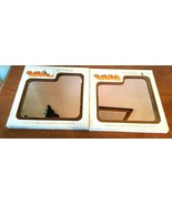 VTG Hoyne GLAS-TILE Plain 12 x 12 Mirror Tiles Sealed Boxes of 5 Lot of ... - $74.25