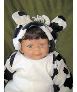 Halloween Kids Costume Cow Bull Sleeper New Children's Place Size 3-6 Mo... - $10.95