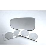 Fits 14-18  Maz 3, 14-17  Maz 6 Left Driver Mirror Glass Lens w/Adhesive... - $19.75