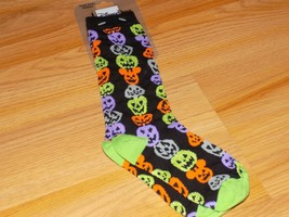 Youth Size Medium Disney Parks Mickey's Not So Scary Halloween Socks Pum... - $12.00