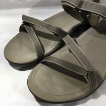 "Womens TEVA Sandals Size 11 Verra Tan Brown ""Bungee Cord""  - $54.97"