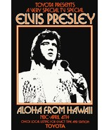 "Elvis Presley 1973 NBC Special ""Aloha From Hawaii"" 20 x 30 Reprint Poster - $45.00"