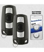2 For 2007 2008 BMW 328xi 335i 335xi Keyless Entry Smart Prox Car Remote Key Fob - $24.72