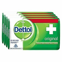 Dettol Original Soap, your skin keeping you healthy every day 125 gm (Pack Of 4) - $20.32