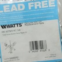 Watts Lead Free RK 007M3 RT 3/4 Total Valve Rubber Parts Repair Kit image 2