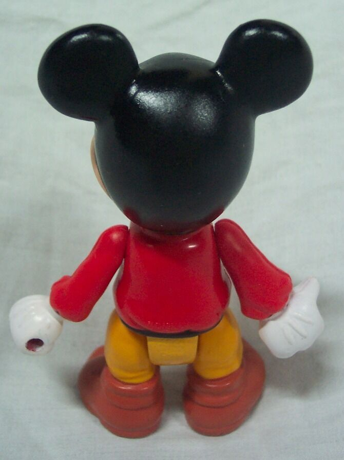 "VINTAGE ARCO Disney VINTAGE MICKEY MOUSE 4"" Plastic Toy Figure"