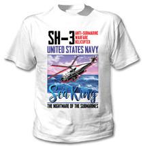SH3 SEAKING - NEW COTTON WHITE TSHIRT - $22.92