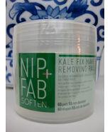 NIP + FAB KALE Fix Pads MAKE UP REMOVING PADS - 60 Pads Per Sealed Conta... - $9.99