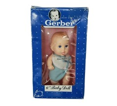 "6"" VINTAGE 1991 GERBER PRODUCTS BABY BOY DOLL IN BOX / PACKAGE 59106 - $27.12"