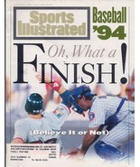 Sports Illustrated Magazine August 22, 1994 Oh, What a Finish! - $2.50