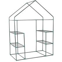 Portable Outdoor 4 Shelves Greenhouse - $58.80