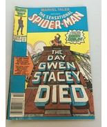 Marvel Tales Spider-Man 192 October 1986 Day Gwen Stacey Died Green Gobl... - $9.99