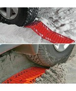 2PC Foldable Car Tire Traction Mat Anti Skid Pad Emergency Car Escaper S... - $9.87