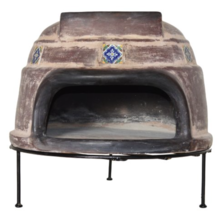 Outdoor Pizza Oven Kit Wood Fired Grill Clay Tile Stove Patio Dining Coo... - £127.95 GBP