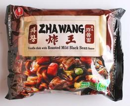 1 Pack Nongshim Zha Wang Korean Instant Premium Black Bean Sauce Noodle Ramen