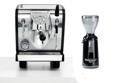 Nuova Simonelli Musica Espresso Machine Coffee Maker & Grinta Black Set 110V - $2,353.71