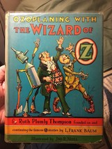 Ruth Plumly Thompson - Ozoplaning With the Wizard of Oz 1939 1st In dust... - $637.00