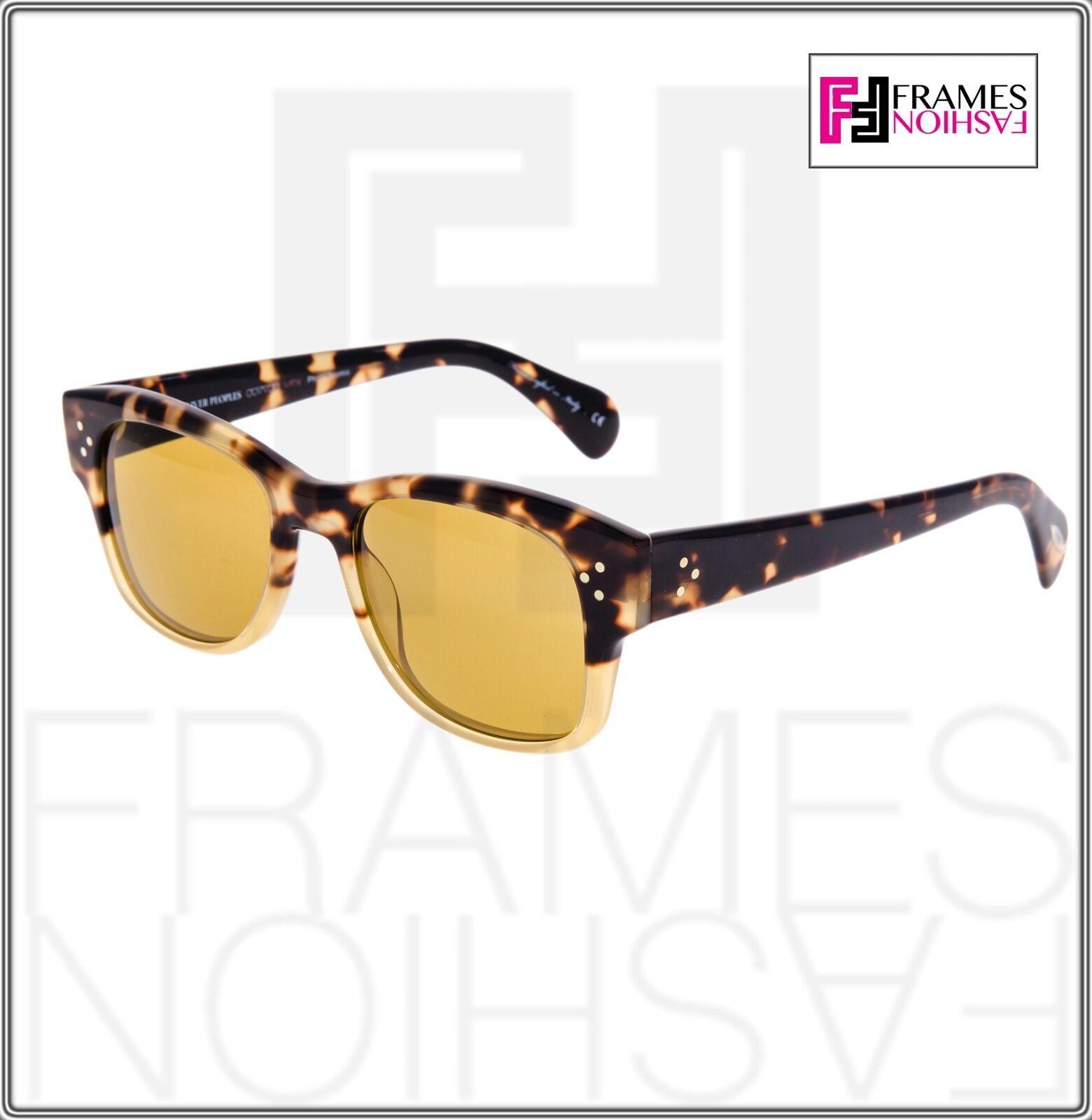 OLIVER PEOPLES Jannsson Sun OV5242S Honey Brown VFX Photochromic Sunglasses 5242 image 7